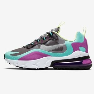 Nike Air Max 270 React Geometric Abstract 🟣🔷🟨🟢